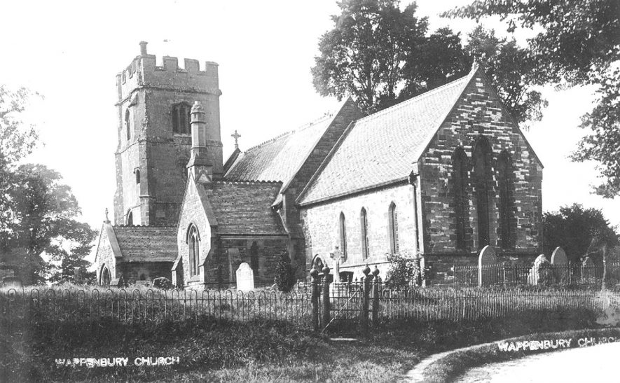 St John's Church, Wappenbury.  1900s |  IMAGE LOCATION: (Warwickshire County Record Office)