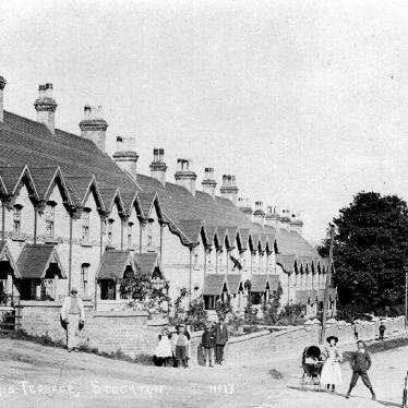 Stockton.  Victoria Terrace