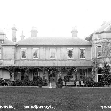 Warwick.  The Lawn