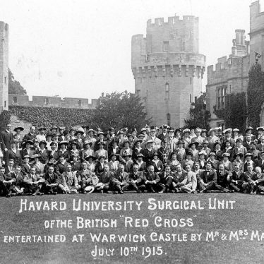 Warwick.  Castle, Harvard University surgical unit