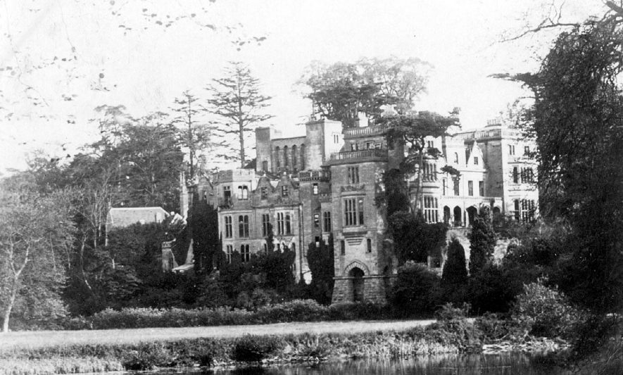 Guy's Cliffe House, Warwick.  1900s |  IMAGE LOCATION: (Warwickshire County Record Office)