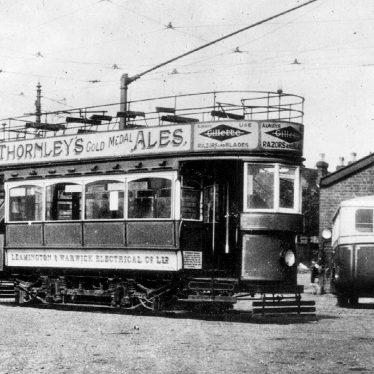 Warwick.  Tram depot