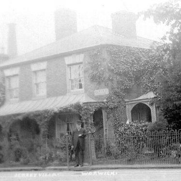 Warwick.  Emscote Road, Jersey Villa