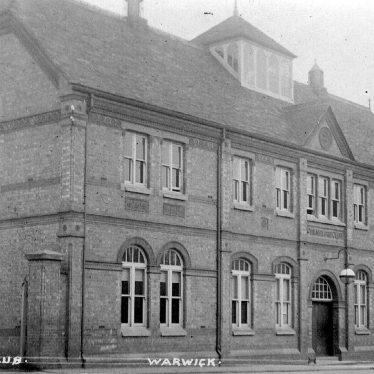 Warwick.  Charles Street, Nelson Club