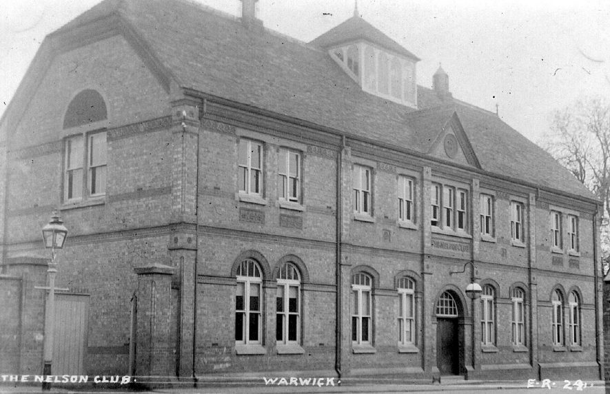 The Nelson Club, Charles Street, Warwick.  1900s |  IMAGE LOCATION: (Warwickshire County Record Office)