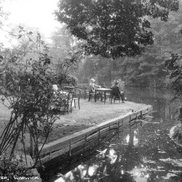 Warwick.  Sunshine by the river