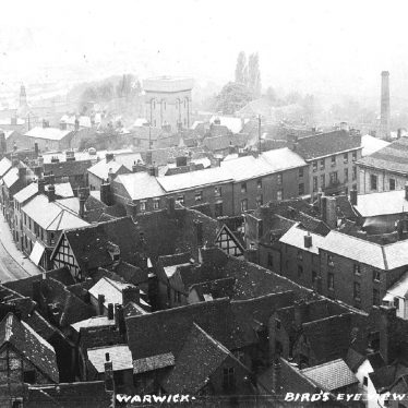 Warwick.  Aerial view