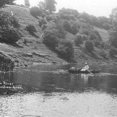 Welford on Avon.  River Avon