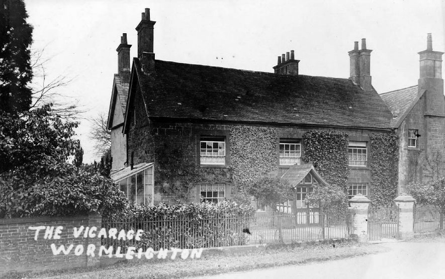 The vicarage,  Wormleighton.  1900s |  IMAGE LOCATION: (Warwickshire County Record Office)