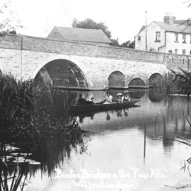 Welford on Avon.  Binton Bridges and The Four Alls