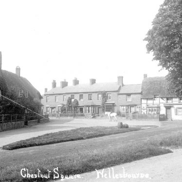 Wellesbourne.  Chestnut Square