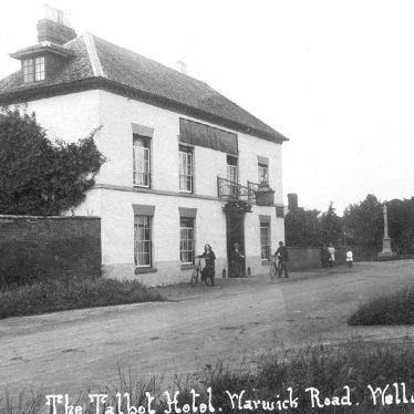 Wellesbourne.  Talbot Hotel