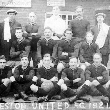 Weston under Wetherley.  Weston United Football Club