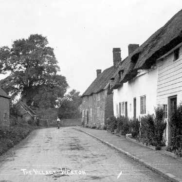 Weston under Wetherley.  Village scene