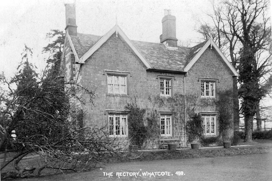 The Rectory, Whatcote.  1900s |  IMAGE LOCATION: (Warwickshire County Record Office)