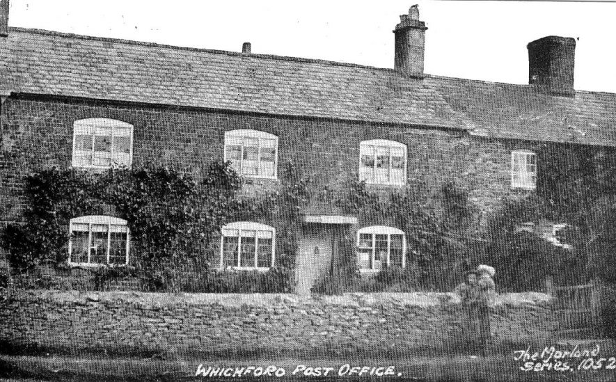 Whichford Post Office.  1900s |  IMAGE LOCATION: (Warwickshire County Record Office)