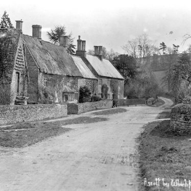 Ascott. Village lane