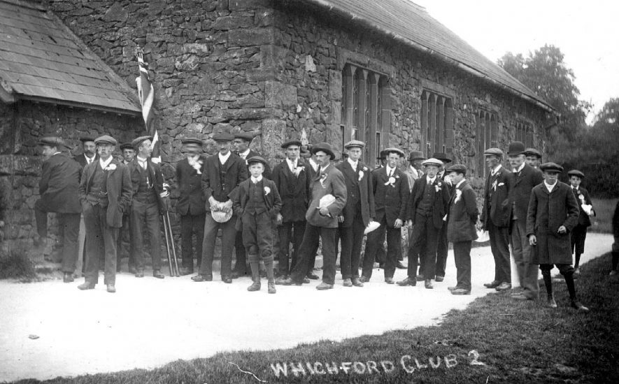 Whichford Club.  1910s |  IMAGE LOCATION: (Warwickshire County Record Office)