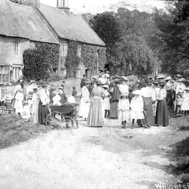 Whichford Club.  Women and children