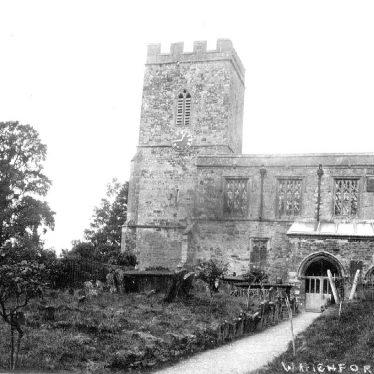 Whichford.  Church