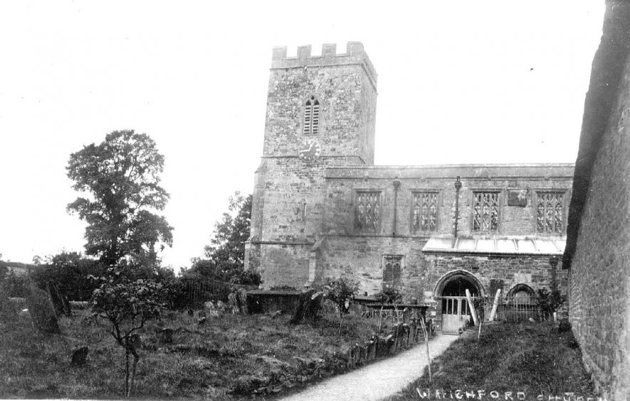 Whichford Church.  1910s |  IMAGE LOCATION: (Warwickshire County Record Office)