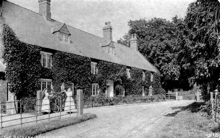 The Rookery,  Wormleighton.  1900s |  IMAGE LOCATION: (Warwickshire County Record Office)