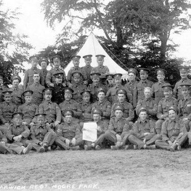 Napton on the Hill.  Royal Warwickshire Regiment