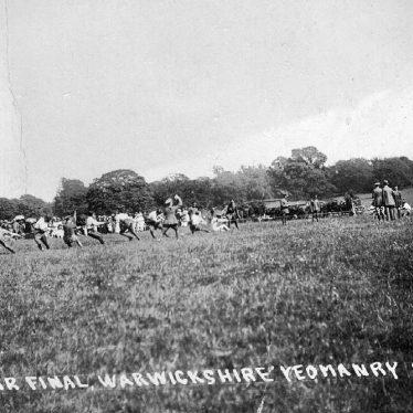 Warwick.  Warwickshire Yeomanry Tug of War