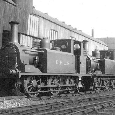 "Stratford upon Avon.  ""Terriers"" railway engines"