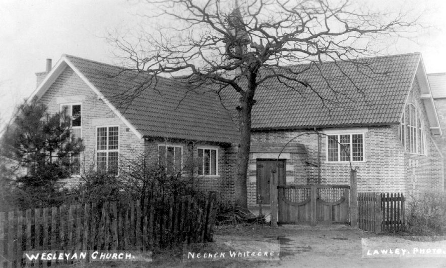 Wesleyan church, Nether Whitacre.  1910s |  IMAGE LOCATION: (Warwickshire County Record Office)