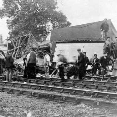 Whitacre, Nether.  Railway accident
