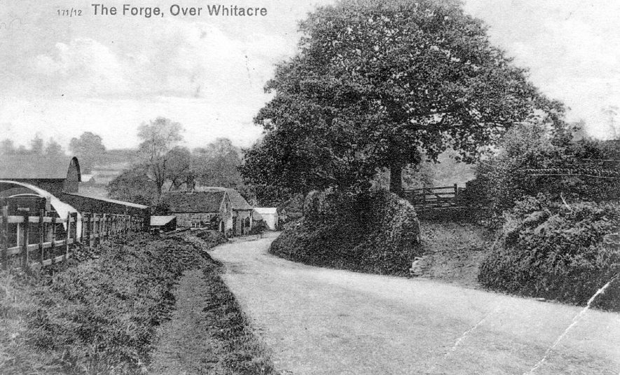 The Forge, Keys Lane, Over Whitacre.  1940 |  IMAGE LOCATION: (Warwickshire County Record Office)