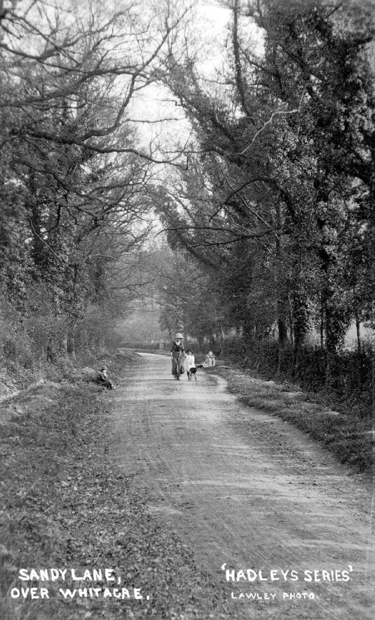 Sandy Lane, Over Whitacre.  1915 |  IMAGE LOCATION: (Warwickshire County Record Office)