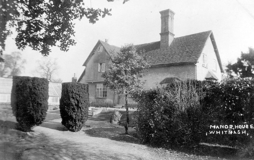The Manor House in Whitnash.  1920s |  IMAGE LOCATION: (Warwickshire County Record Office)