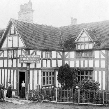 Whitnash.  Plough and Harrow Inn