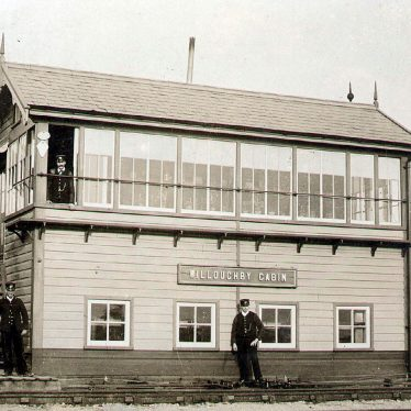 Willoughby.  Signal box