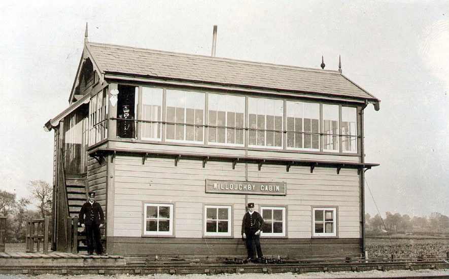 Willoughby signal box.  1910s |  IMAGE LOCATION: (Warwickshire County Record Office)