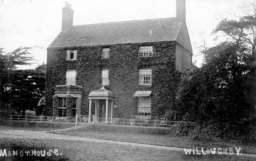 The Manor House,  Willoughby.  1900s |  IMAGE LOCATION: (Warwickshire County Record Office)
