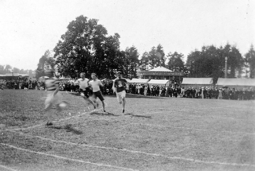 Wolston school sports day.  1911 |  IMAGE LOCATION: (Warwickshire County Record Office)
