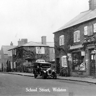 Wolston.  School Street, Post Office