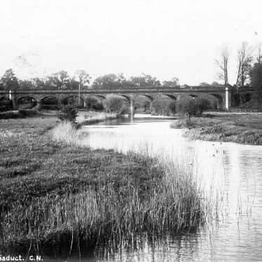 Wolston.  Viaduct over the River Avon