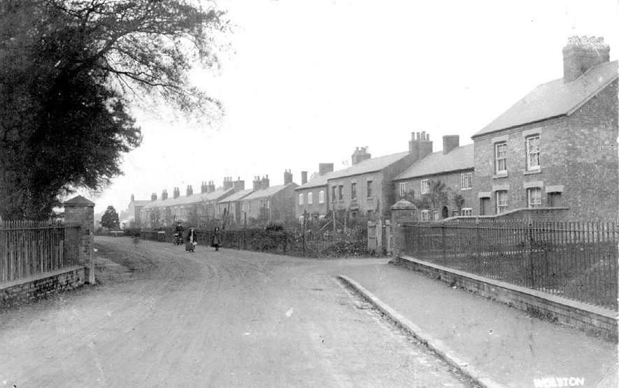 Avon terrace, Wolston.  1900s |  IMAGE LOCATION: (Warwickshire County Record Office)