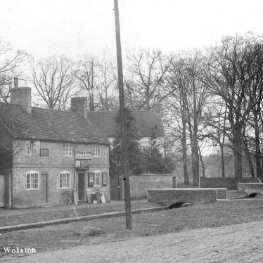 Wolston.  Station Road