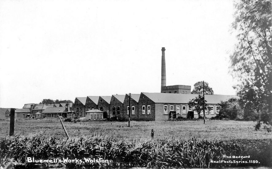 Bluemells was a manufacturer of cycle components, Wolston.  1910s |  IMAGE LOCATION: (Warwickshire County Record Office)