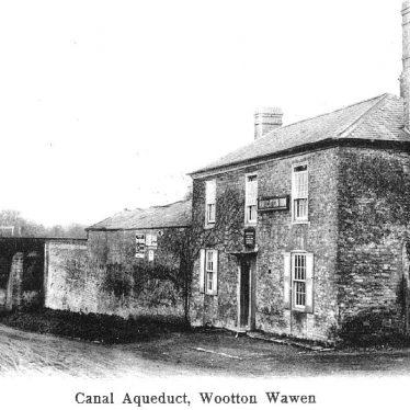 Wootton Wawen.  Stratford upon Avon Canal, aqueduct