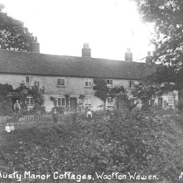 Wootton Wawen.  Austry Manor cottages