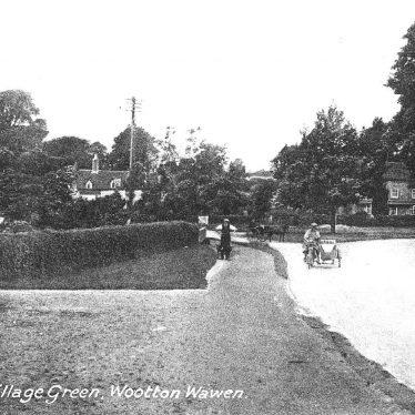 Wootton Wawen.  Green