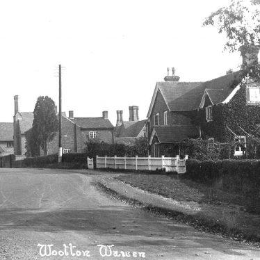 Wootton Wawen.  Village street
