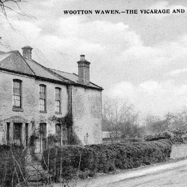 Wootton Wawen.  Vicarage