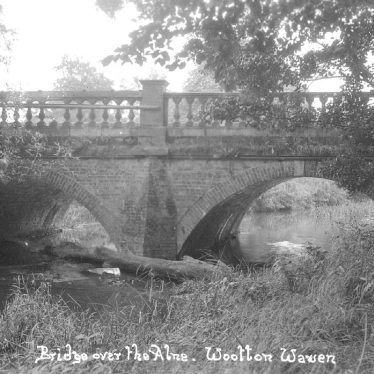 Wootton Wawen.  Bridge over the River Alne